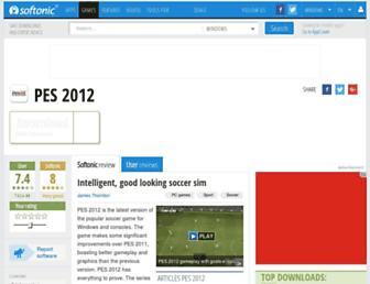pes-2012.en.softonic.com screenshot