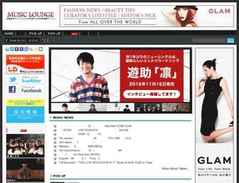 Thumbshot of Music-lounge.jp