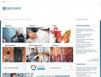 ulapland.fi screenshot