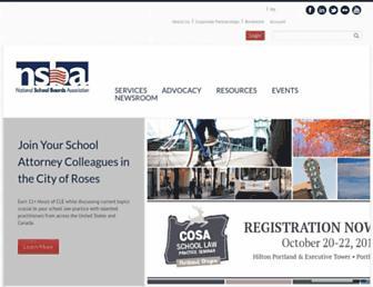 nsba.org screenshot