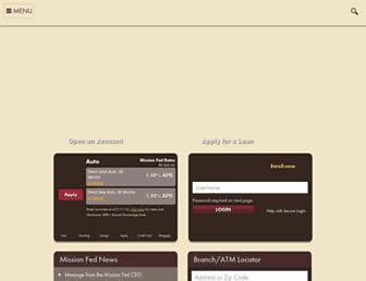 Thumbshot of Missionfed.com