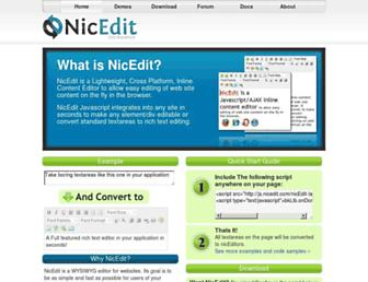 Thumbshot of Nicedit.com