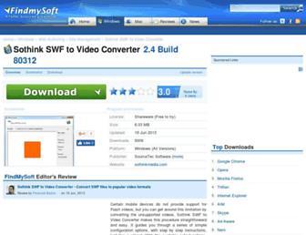 sothink-swf-to-video-converter.findmysoft.com screenshot
