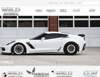 weldwheels.com screenshot