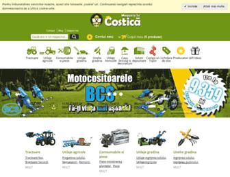 magazialucostica.ro screenshot