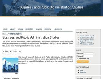 bpastudies.org screenshot