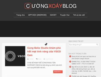 cuongxoayblog.blogspot.com screenshot