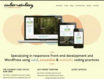 Thumbshot of Amberweinberg.com