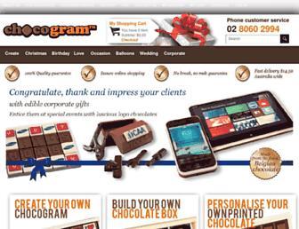 chocogram.com.au screenshot