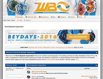 worldbeyblade.org screenshot
