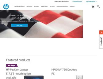 store.hp.com screenshot