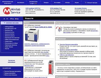 minilab.com.ua screenshot