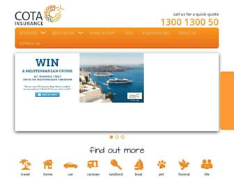 cota.com.au screenshot