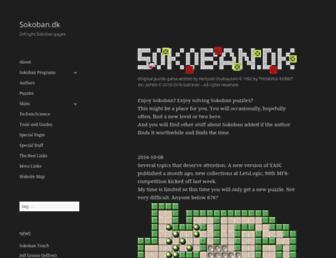 sokoban.dk screenshot