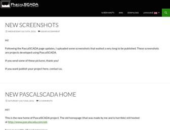 pascalscada.com screenshot