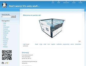 panticz.de screenshot