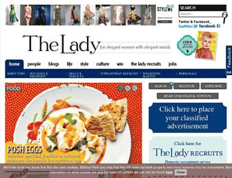 lady.co.uk screenshot