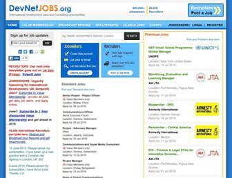Thumbshot of Devnetjobs.org
