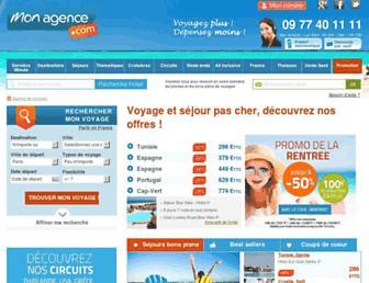 monagence.com screenshot