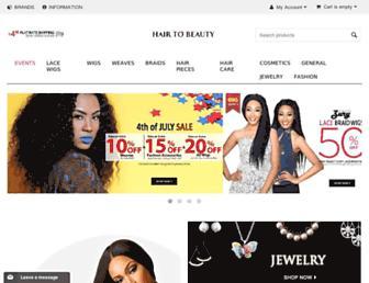 Thumbshot of Hairtobeauty.com