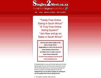 Thumbshot of Singles2meet.co.za