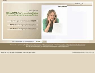 Main page screenshot of ec.princeton.edu