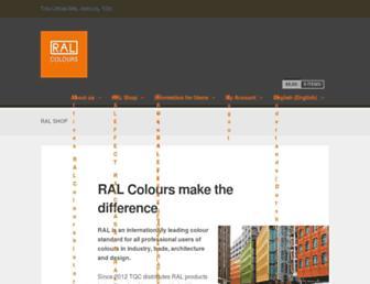 ral-shop.com screenshot