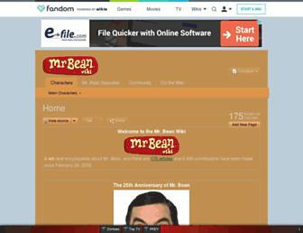 mrbean.wikia.com screenshot