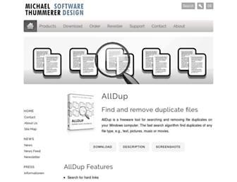 alldup.info screenshot