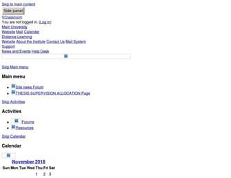 vclass.knust.edu.gh screenshot