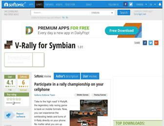v-rally.en.softonic.com screenshot