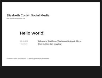 Thumbshot of Elizabethcorbin.com