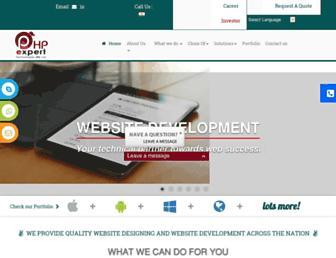 phpexperttechnologies.com screenshot