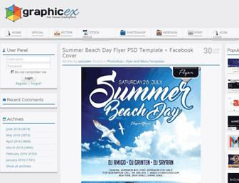 Thumbshot of Graphicex.com