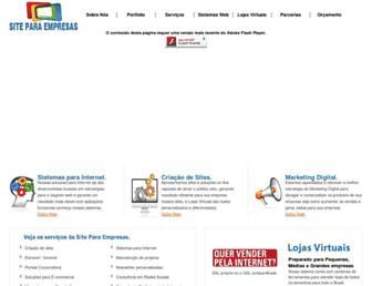 siteparaempresas.com.br screenshot