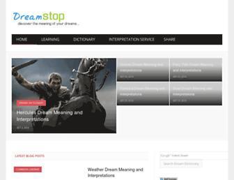 dreamstop.com screenshot