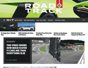 Thumbshot of Roadandtrack.com