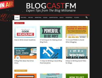 blogcastfm.com screenshot