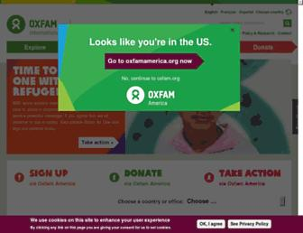 Thumbshot of Oxfam.org