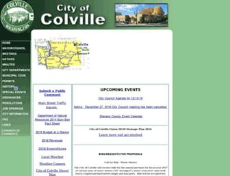 colville.wa.us screenshot