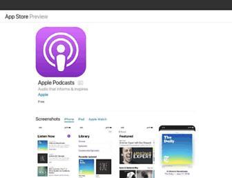 podcasts.apple.com screenshot