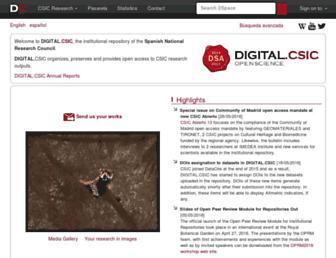 digital.csic.es screenshot