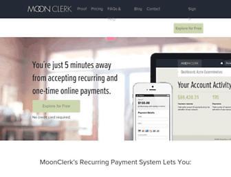 Thumbshot of Moonclerk.com