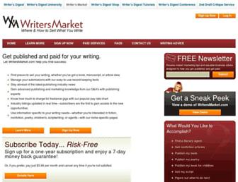 Thumbshot of Writersmarket.com