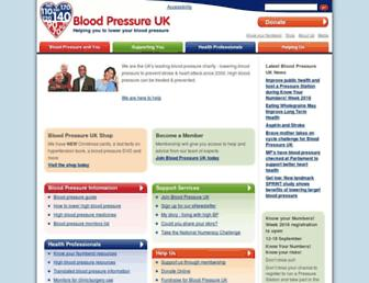 Thumbshot of Bloodpressureuk.org