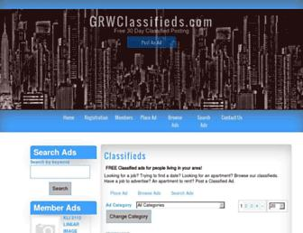 Thumbshot of Grwclassifieds.com