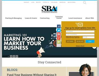 Fullscreen thumbnail of sba.gov
