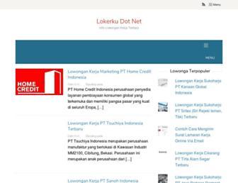 lokerku.net screenshot