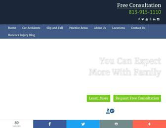 lawhancock.com screenshot