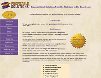 profitablesolutions.com screenshot
